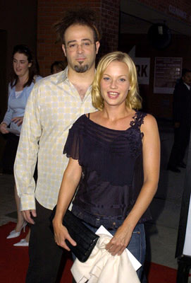 Premiere: Adam Duritz and Samantha Mathis at the L.A. premiere of MGM's Saved! - 5/13/2004