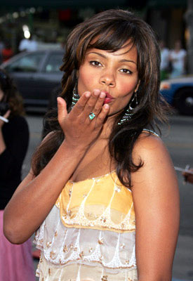 Premiere: Sanaa Lathan at the Hollywood premiere of Lions Gate Films' Undiscovered - 8/23/2005