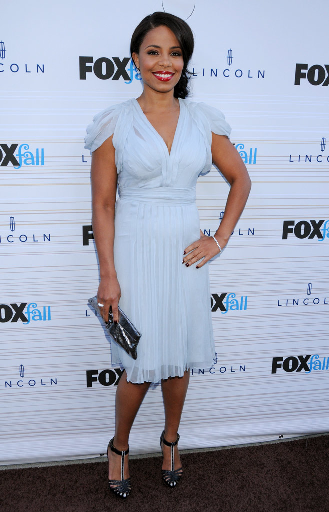 "Sanaa Lathan of ""The Cleveland Show"" arrives at the 2010 Fox Fall Eco-Casino party on September 13, 2010, at Boa in West Hollywood."