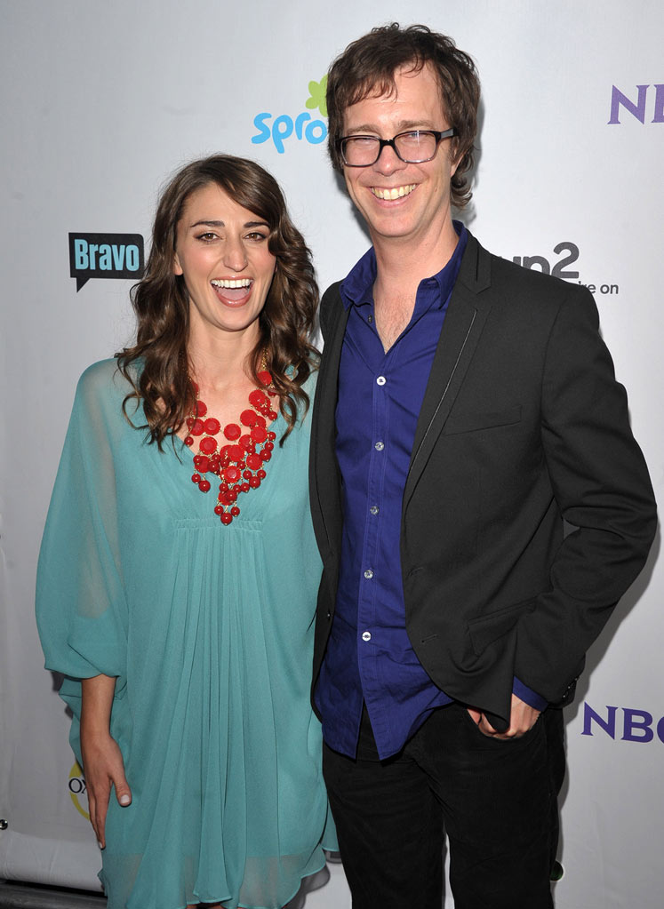 "Sarah Bareilles and Ben Folds of ""The Sing-Off"" attend the NBC Universal Summer TCA 2011 All-Star Party at the SLS Hotel on August 1, 2011 in Los Angeles, California."