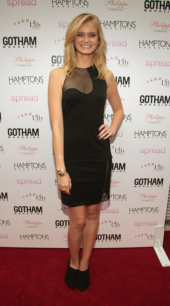 "Sarah Paxton from the cast of Beautiful Life attends the special advanced screening of ""Spread"" hosted by Gotham and Hamptons Magazine's Jason Binn at the UA East Hampton 6 on August 8, 2009 in East Hampton, New York."