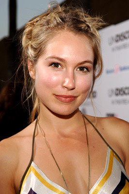 Premiere: Sarah Carter at the Hollywood premiere of Lions Gate Films' Undiscovered - 8/23/2005