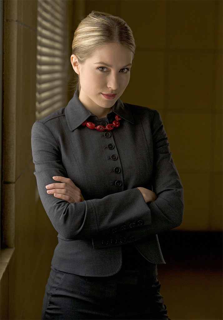 Sarah Carter stars as Madeleine Poe in Shark on CBS.