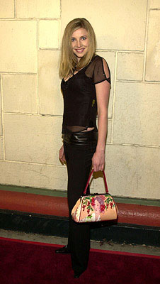 Premiere: Sarah Chalke at the LA premiere of Miramax's 40 Days and 40 Nights - 2/20/2002