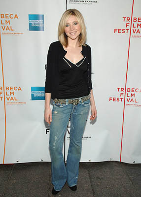 Sarah Chalke Alchemy premiere - Tribeca Film Festival April 25, 2005 - New York, NY