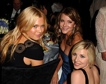 Mandy Moore, christa Miller and Sarah Chalke Governor's Ball Emmy Awards - 9/18/2005