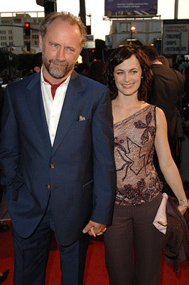 Premiere: Xander Berkeley and Sarah Clarke at the LA premiere of Warner Bros. Pictures' North Country - 10/10/2005