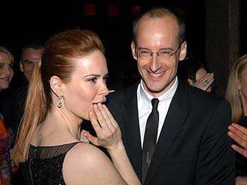 Sarah Paulson and Peyton Reed Down With Love Party Tribeca Film Festival, 5/6/2003
