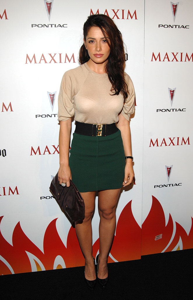 Sarah Shahi of Life at the Maxim's 8th Annual Hot 100 Party.