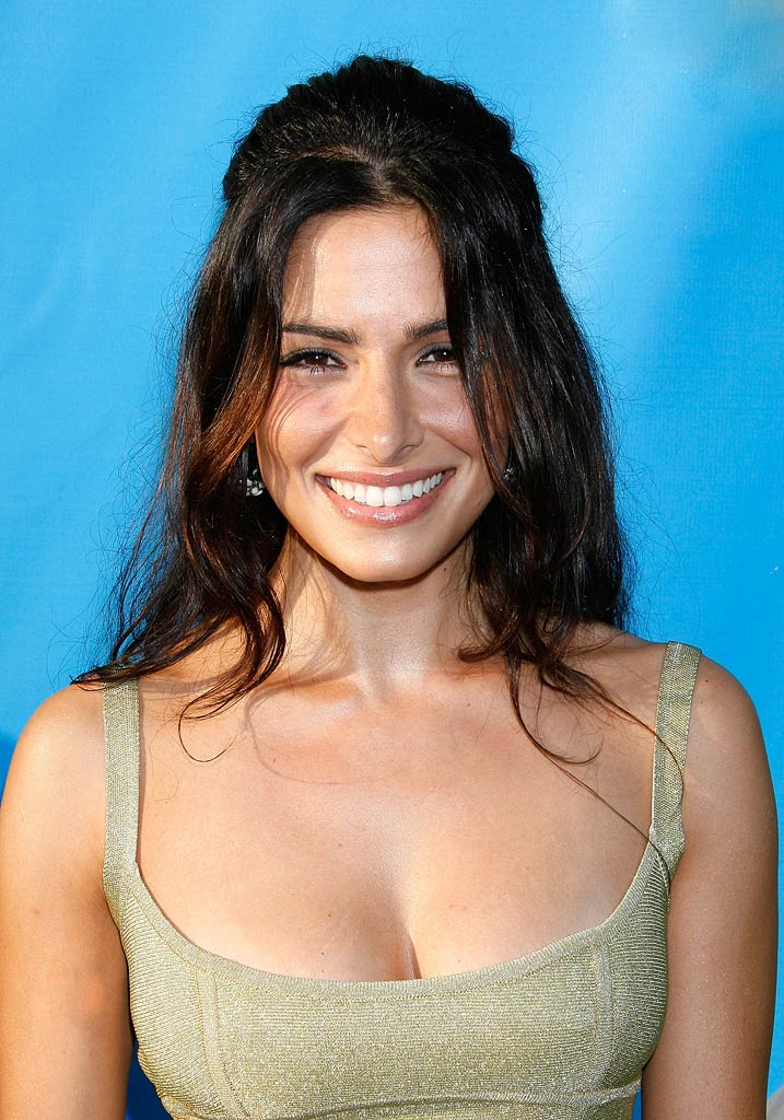 "Sarah Shahi of Life arrives at the ""NBC TCA Party""."