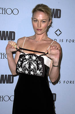 "Sarah Wynter WWD's ""Black, White and Diamonds"" Pre-Oscar Party Beverly Hills, CA 3/21/2001"