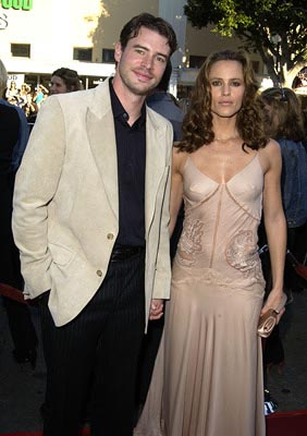 Premiere: Scott Foley and Jennifer Garner at the LA premiere of 20th Century Fox's Daredevil - 2/9/2003