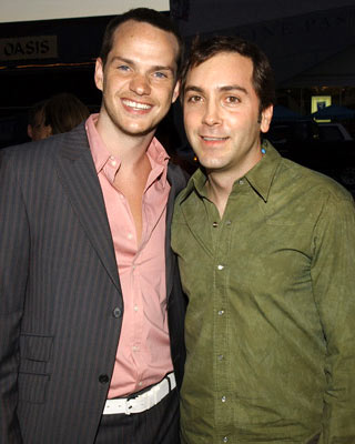 Peter Paige and Scott Lowell at the Hollywood premiere of Showtime's Reefer Madness - 4/5/2005
