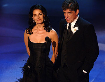 Sela Ward and Craig Ferguson Emmy Awards - 9/18/2005