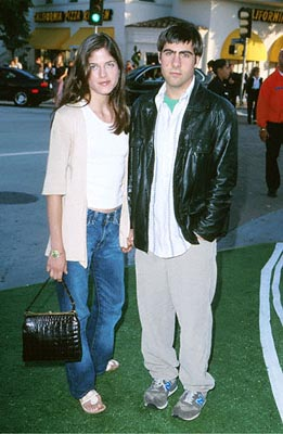 Premiere: Selma Blair and Jason Schwartzman at the Mann's Village Theatre premiere of Warner Brothers' The Replacements - 8/7/2000