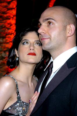 Selma Blair and Ahmet Zappa Vanity Fair Party 76th Academy Awards - 2/29/2004