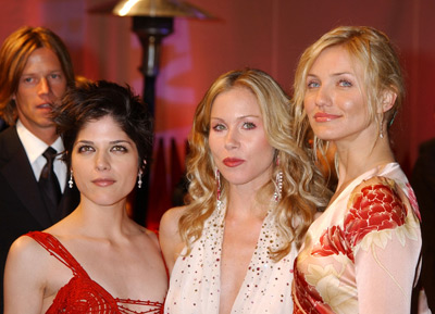 Selma Blair, Christina Applegate and Cameron Diaz Vanity Fair Party Hollywood, CA 3/24/2002