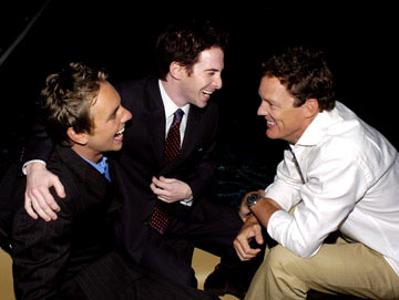 Premiere: Dax Shepard, Seth Green and Matthew Lillard at the Los Angeles premiere Paramount Pictures' Without a Paddle - 8/16/2004