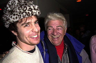 Sam Rockwell and Seymour Cassel Sundance Film Festival Day 3 The Hugo Boss House, Park City, Utah 1/20/2001