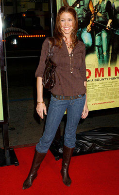 Premiere: Shannon Elizabeth at the Hollywood premiere of New Line Cinema's Domino - 10/11/2005