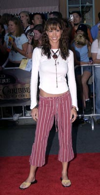 Premiere: Shannon Elizabeth at the LA premiere of Walt Disney's Pirates Of The Caribbean: The Curse of the Black Pearl - 6/28/2003
