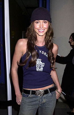 Premiere: Shannon Elizabeth at the Hollywood premiere of Josie and the Pussycats - 4/9/2001