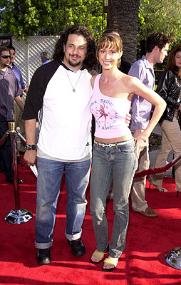 Premiere: Joseph Reitman and Shannon Elizabeth at the Universal city premiere of Universal's The Mummy Returns - 4/29/2001