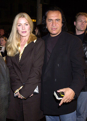 Premiere: Shannon Tweed and Gene Simmons at the Westwood premiere of 13 Ghosts - 10/23/2001