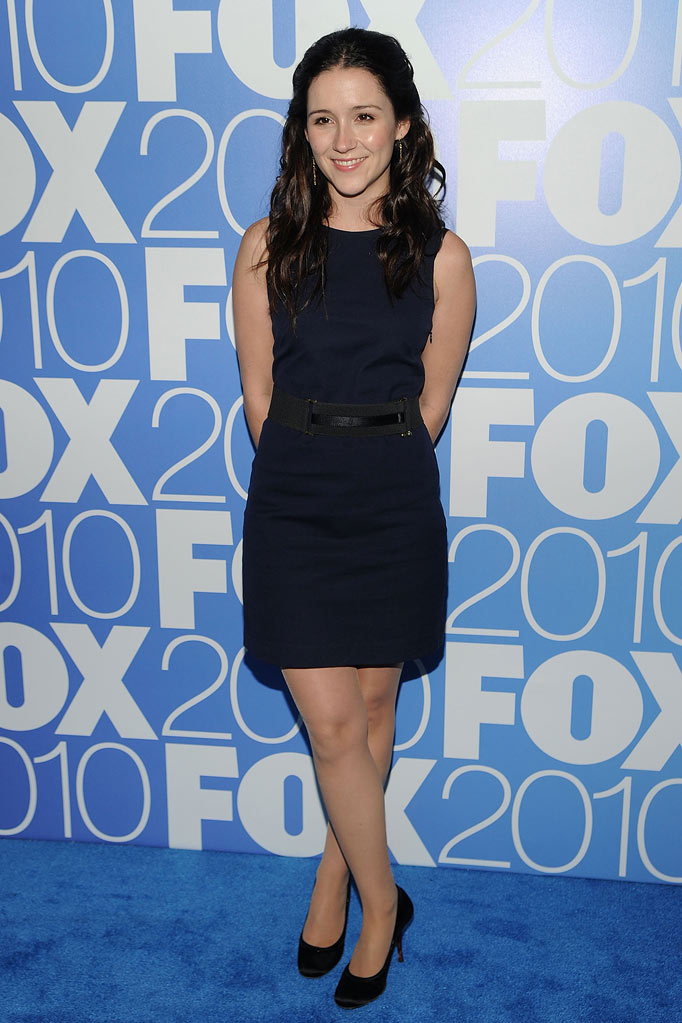 "Shannon Woodward (""Raising Hope"") attends the 2010 Fox Upfront after party at Wollman Rink, Central Park on May 17, 2010 in New York City."