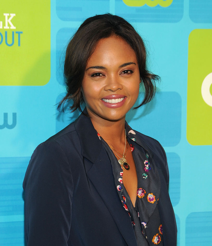 "Sharon Leal (""Hellcats"") attends the 2010 The CW Upfront at Madison Square Garden on May 20, 2010 in New York City."