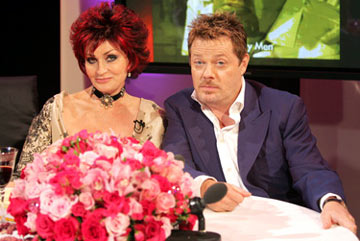 Sharon Osbourne and Eddie Izzard 13th Annual Elton John AIDS Foundation Oscar Party West Hollywood, CA - 2/27/05