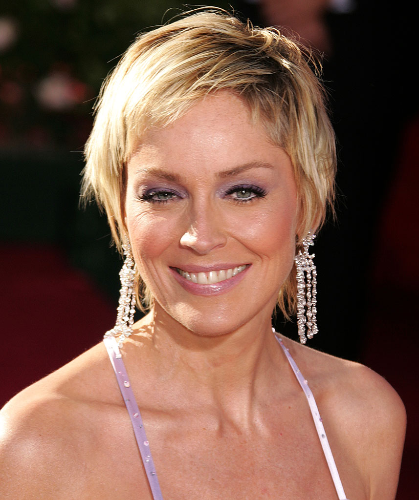 Sharon Stone at The 56th Annual Primetime Emmy Awards.
