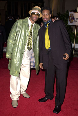 Marlon Wayans and Shawn Wayans Blockbuster Entertainment Awards Los Angeles, 4/10/2001