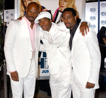 Premiere: Keenen Ivory Wayans, Marlon Wayans and Shawn Wayans at the Los Angeles premiere of Columbia Pictures' White Chicks - 6/16/2004