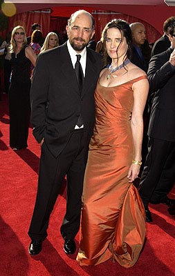 Richard Schiff, Sheila Kelley 55th Annual Emmy Awards - 9/21/2003
