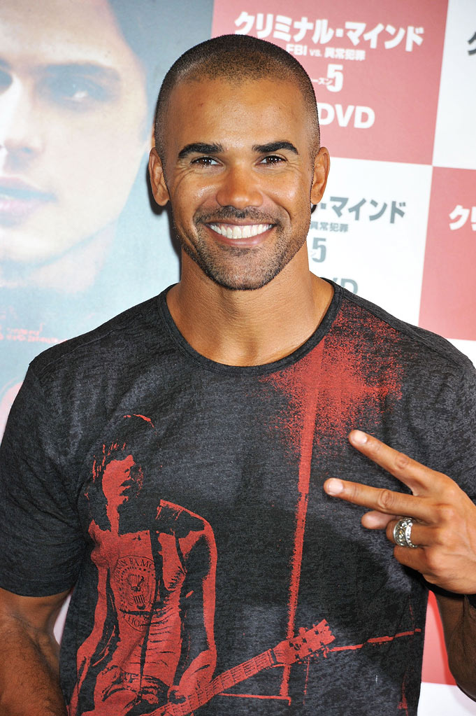 "Shemar Moore attends the ""Criminal Minds"" DVD launch promotion event at Tsutaya Roppongi on November 19, 2011 in Tokyo, Japan."