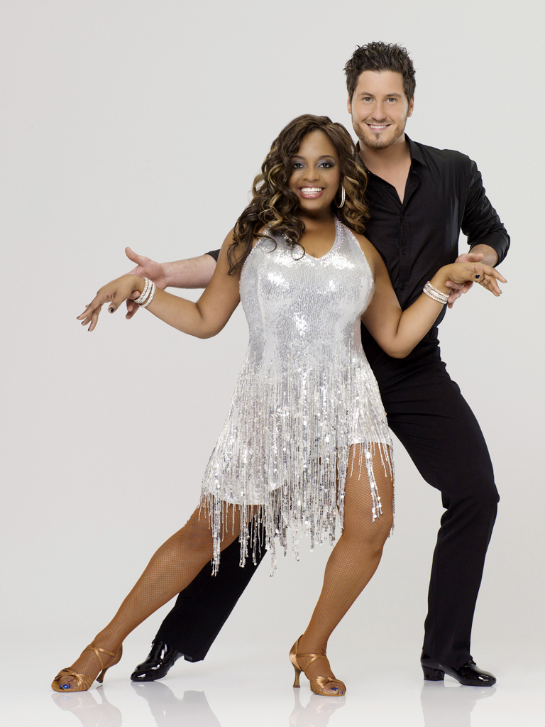 "Sherri Shepherd teams with professional dancer Val Chmerkovskiy on Season 14 of ""Dancing With the Stars."""