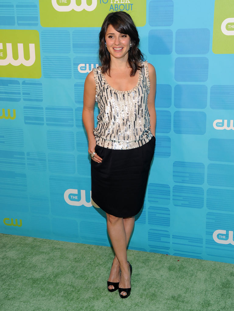 "Shiri Appleby (""Life Unexpected"") attends the 2010 The CW Upfront at Madison Square Garden on May 20, 2010 in New York City."