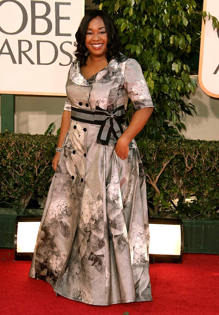 Shonda Rhimes at the 64th annual Golden Globe Awards.