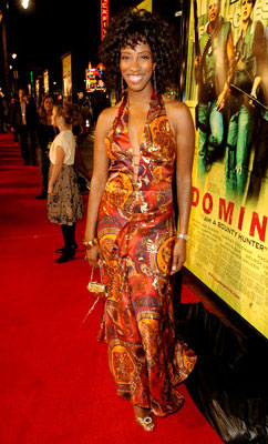 Premiere: Shondrella Avery at the Hollywood premiere of New Line Cinema's Domino - 10/11/2005