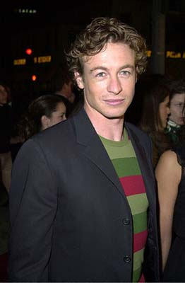 Premiere: Simon Baker at the Mann's Village Theater premiere of Warner Brothers' Red Planet - 11/6/2000