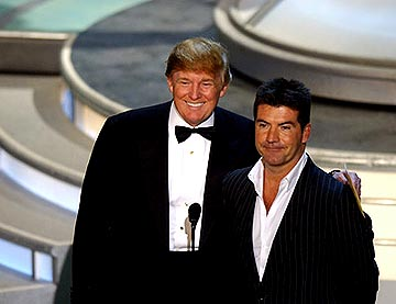 Donald Trump and Simon Cowell Presenters for Outstanding Supporting Actress in a Comedy Series Emmy Awards - 9/19/2004