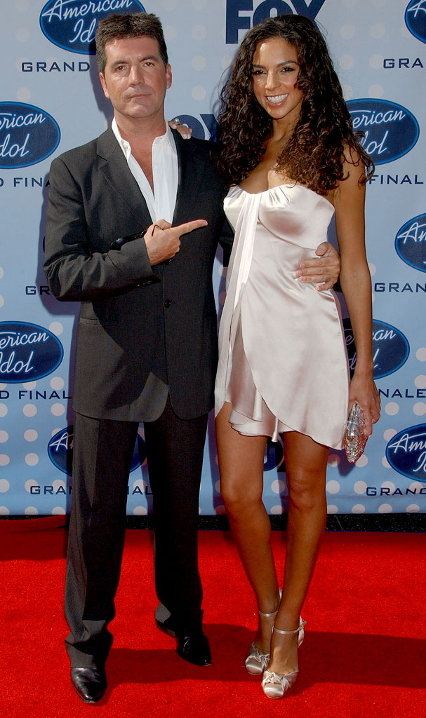 Simon Cowell and Terri Seymour arrive at the Season 6 American Idol finale.