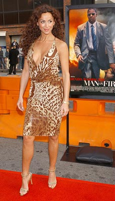 Premiere: Sofia Milos at the LA premiere of 20th Century Fox's Man on Fire - 4/18/2004