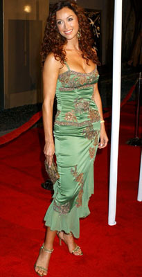Premiere: Sofia Milos at the Hollywood premiere of Universal Pictures' Ray - 10/19/2004