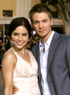 Premiere: Sophia Bush and Chad Michael Murray at the Westwood premiere of Warner Bros. Pictures' House of Wax - 4/26/2005