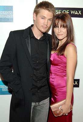 Chad Michael Murray and Sophia Bush House of Wax premiere - Tribeca Film Festival April 30, 2005 - New York, NY