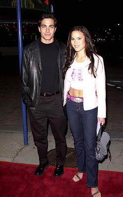 Premiere: Michael Bergin and Stacy Kamano at the Westwood premire of 20th Century Fox's Say It Isn't So - 3/12/2001
