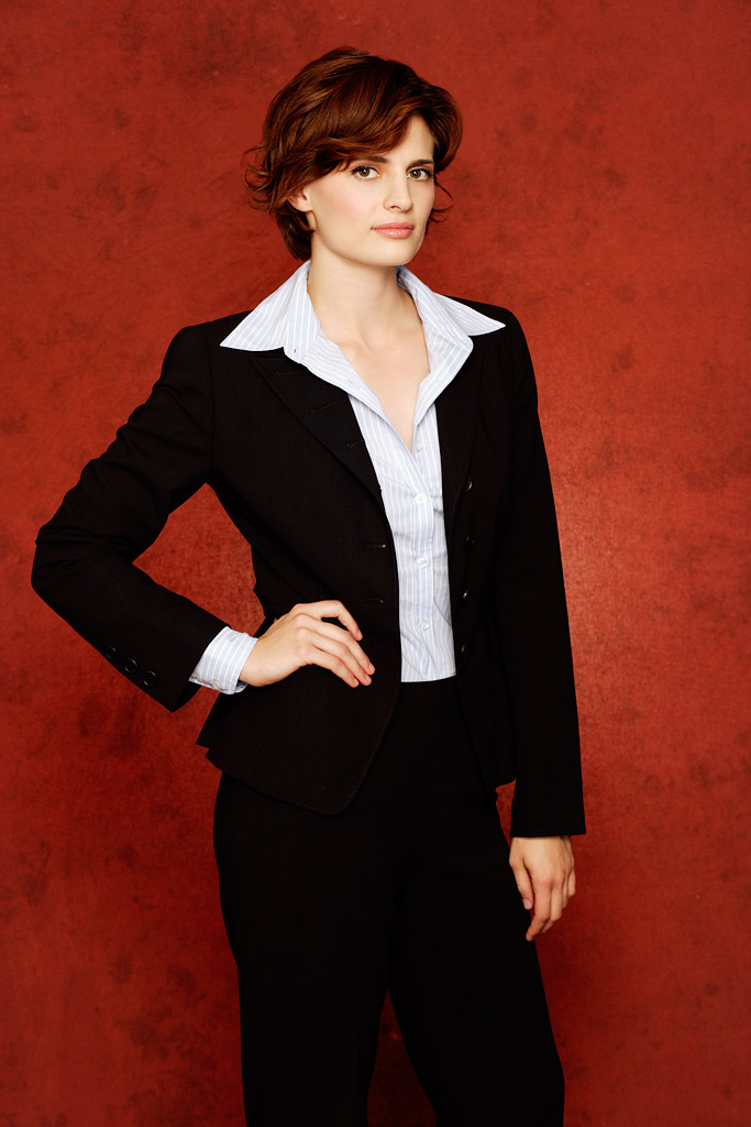Stana Katic stars as Detective Kate Beckett in Castle.
