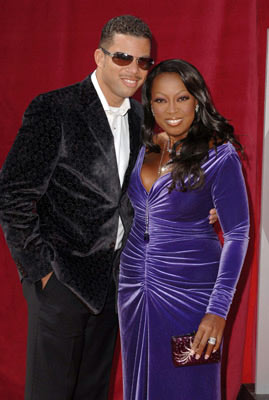 Star Jones with husband Al Reynolds 57th Annual Emmy Awards Arrivals - 9/18/2005